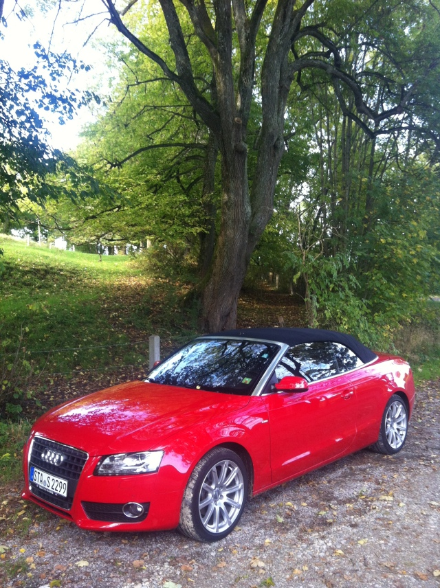 Dankbarkeit, Audi A5 Cabriolet, Wessobrunn