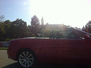 Audi A5 Cabrio, Kloster Andechs
