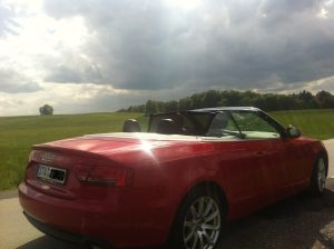 Ammerland, Starnberger See, Audi A5 Cabrio
