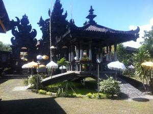 Balinese Temple Pura Ponjok Batu