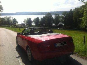 Starnberger See, Audi A5, Gedenkkapelle