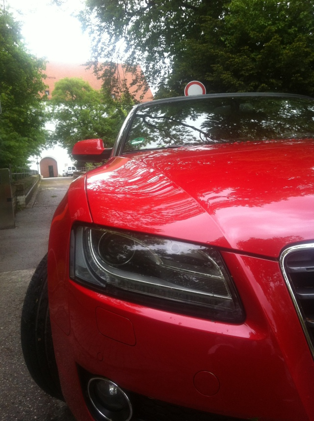Audi A5 Cabriolet, Schloss Starnberg