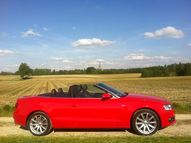 Erzabtei St. Ottilien, Audi A5 Cabrio