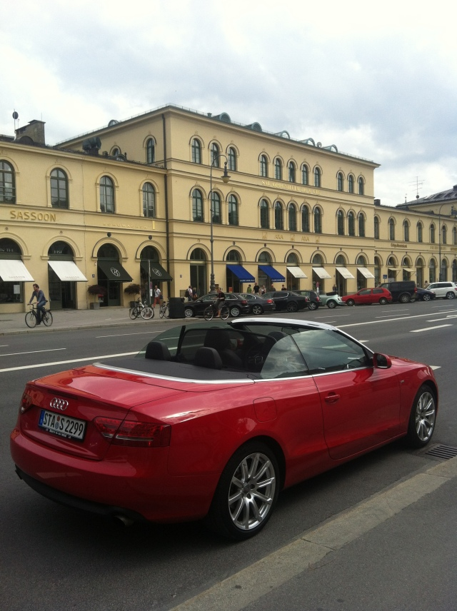Audi A5 Cabrio, The Goddess Blog, Copyright by Sabine Engert