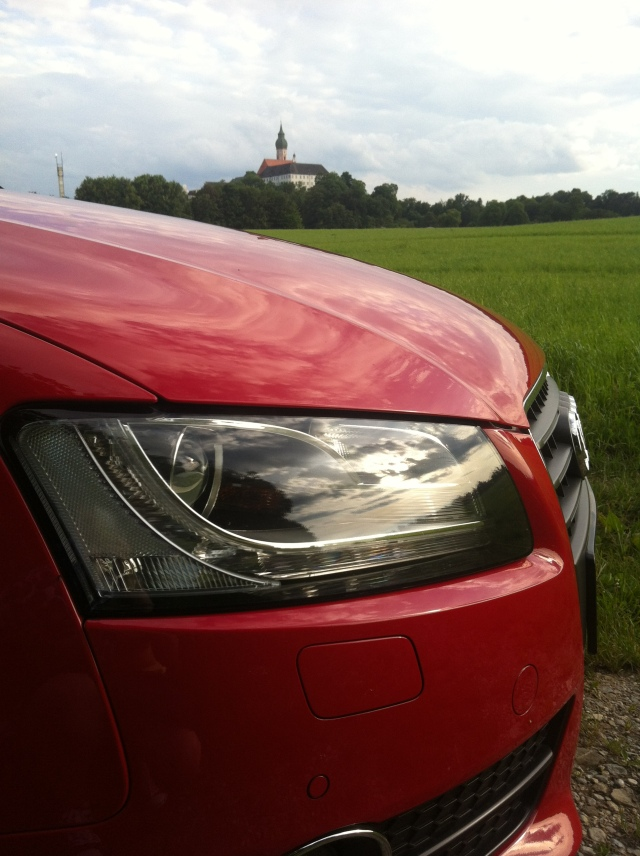 Audi A5 Cabrio und Kloster Andechs