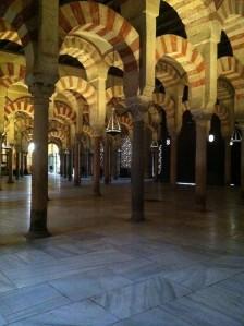 La Mezquita, die Moschee mit den 900 Säulen in Cordoba, Südspanien