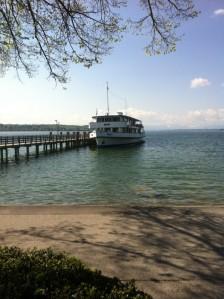 Dampfer am Starnberger See