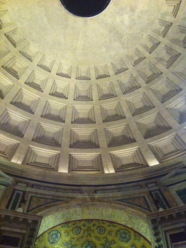 Innenansicht des Pantheons in Rom