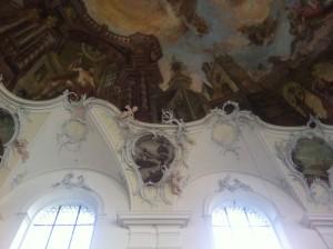 Stuck in der Klosterkirche Wessobrunn