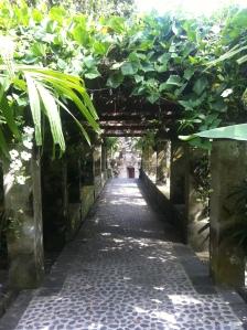 Garden of a museum in Ubud, Bali