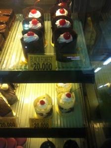 Blackforest cake - Schwarzwälderkirsch-Törtchen