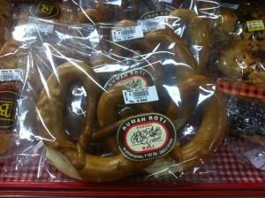 Brezeln im Bintang Supermarkt, Ubud